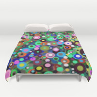 In Circles Duvet Cover by gretzky | Society6