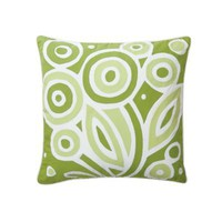 Grass Bloom Decorative Pillow | Serena & Lily