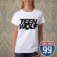 Teen Wolf Logo T Shirt By Tees Area 99