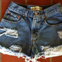 Custom High Waisted Levi Shorts by LindsayLouVintage on Etsy