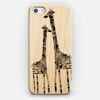 giraffes iPhone 5s case by Marianna Tankelevich | Casetify