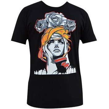 "Men's ""Perfect Turmoil"" Tee by Black Market Art (Black)"