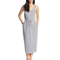 Steven Alan Women's Striped Cotton/Linen Sleeveless Maxi Dress