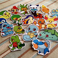 Pokemon Sticker Set
