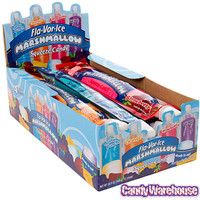 Fla-Vor-Ice Marshmallow Squeeze Candy Tubes: 12-Piece Display
