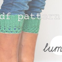 PDF Crochet PATTERN Boot Cuffs | Luulla