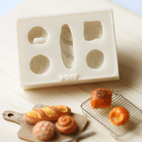 Miniature Clay Mold Push Mold For Dollhouse Miniature French Breads | Luulla