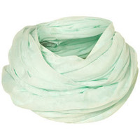 Mint Burnout Jersey Snood - Scarves  - Accessories  - Topshop USA
