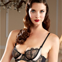 Dita Von Teese Man Catcher Sheer Lace Bra Y51942 at BareNecessities.com