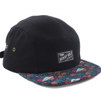 Dolores Navy 5Panel Hat - Hats - Shop | Benny Gold