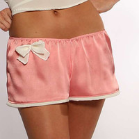 Pink Shorts Sleep boxers with Bow Large by NaughtyNaughty on Etsy