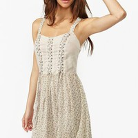Ditsy Corset Dress in  Clothes Dresses Party at Nasty Gal