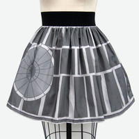 Death Star Full Skirt by GoChaseRabbits on Etsy