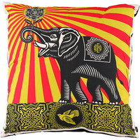 Obey Peace Elephant Throw Pillow