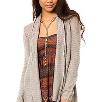 The Needles Cardigan in Smoke