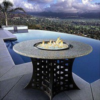 California Outdoor Concepts La Costa Gas Fire Pit Table - 401X / 90x / 9xx/ 803-NG0-FP / 812xx - Fireplaces & Accessories - Decor