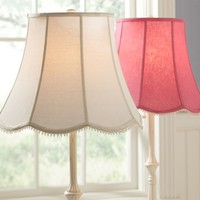 Scallop Floor Lamp Shade