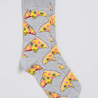 Pizza Design Tube Socks - TOPMAN USA