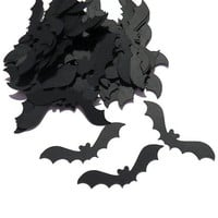 black bat confetti - Halloween decoration by partyparts - 100 Pieces