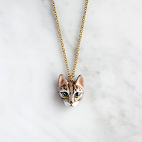 Mok Cat Necklace