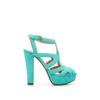 PLATFORM HEEL SANDAL - Shoes - Woman - ZARA United States