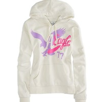AEO Factory Women's Signature Graphic Hoodie