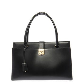 Mandy large leather tote