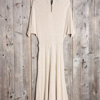Vintage Silk Maxi Dress - Urban Outfitters