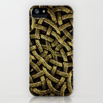 Ancient Arabesque Stone Ornament iPhone & iPod Case by Danflcreativo