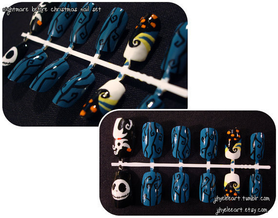Nightmare Before Xmas Nail Set