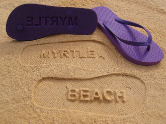 Myrtle Beach Flip Flops