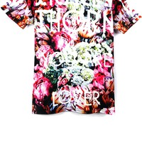 Flower Short Sleeve Tee