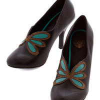 ModCloth Luxe, French Patron of the Arts Heel