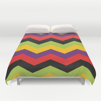 Urban Chevron Duvet Cover by Ashley