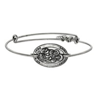 Saint Anthony Horizontal Charm Bangle