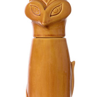 Sly Like A Fox Ceramic Jar