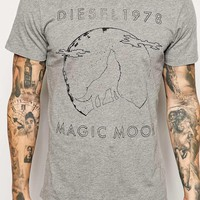 Diesel T-Shirt T-Hita Magic Moon Print