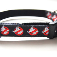 Ghostbusters Dog Collar Adjustable Sizes (XS, S,  M)