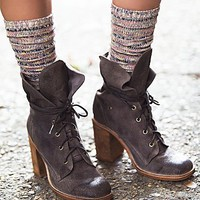 Free People Summit Stripe Tall Sock