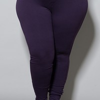 Zoe Jeggings in Eggplant