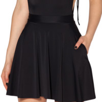 The Awesome Pocket Skater Skirt
