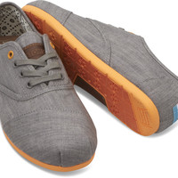 GREY DENIM ORANGE POP MEN'S CORDONES