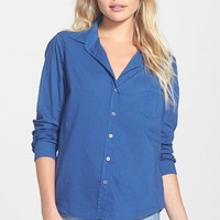 Velvet by Graham & Spencer Cotton Button-Down Shirt | Nordstrom