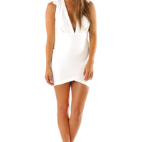 Wild Heart Dress: White