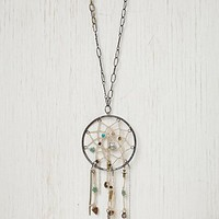 Free People Dream Catcher Necklace