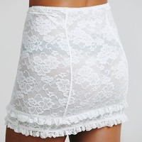 Free People Scandalous Lace Mini