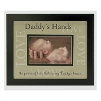 Daddy's Hands - Love Frame | New Daddy Gift | Father's Day Gift