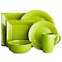 Essential Dinnerware - Lime