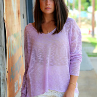 Lavender Love {Knit}