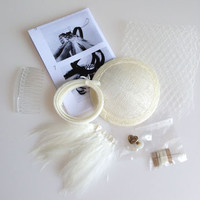 Diy Bridal Fascinator Making Kit